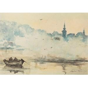 Maciej Nehring, Pejzaż z łódką