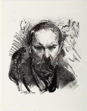 Leon WYCZÓŁKOWSKI (1852 - 1936), Portret Konstantego Laszczki, 1922