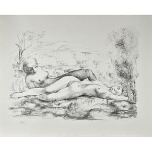 Mojżesz KISLING (1891 - 1953), Akt podwójny