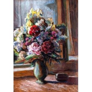 Mieczysław FILIPKIEWICZ (1891-1951), Kwiaty w wazonie