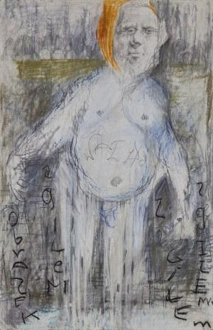 Robert WAŁĘKA (ur. 1979), Człowiek z gilem, 1998