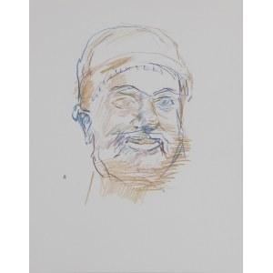 Oskar KOKOSCHKA (1886-1980) – według, Z greckiego szkicownika: Głowa brodacza