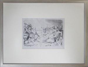 Max SLEVOGT (1868-1932), Hektors Kampf mit Ajax, 1921