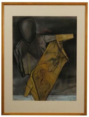 Stasys Eidrigevicius ( 1949 ), Żółta marynarka 1998