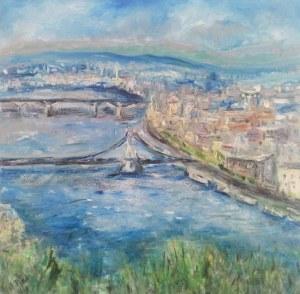 Anna Piórek, Budapeszt-panorama ze Wzgórza Gallerta