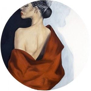 Joanna ZAWADOWICZ-MIKOŁAJCZYK, Red Dahlia, 2020 r.