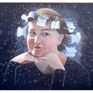 Jolanta KITOWSKA, Panna z mokrą głową, 2020 r.