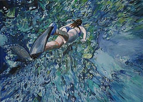 Ilona Foryś (ur. 1980), Głębia oceanu, 2021