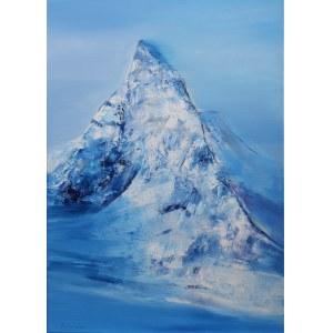 Edward Karczmarski (ur. 1976), Blue Matterhorn, 2020