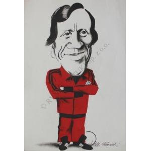 Stanisław Ibis-Gratkowski (1923-1988), Portret Jacka Gmocha