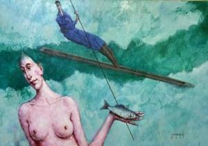 Waldemar Jerzy Marszałek ( 1960 ), Ryby z cyklu Znaki Zodiaku , 2021