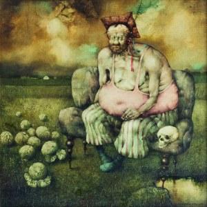 Jerzy Duda-Gracz ( 1941 - 2004), Hamlet polny, 1977/2021