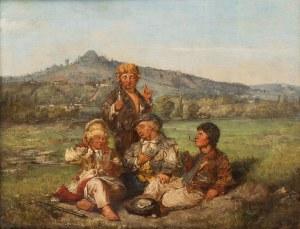 Andrzej Grabowski (1833 Zwierzyniec - 1886 Lwów), Pod Kopcem Kościuszki w Krakowie