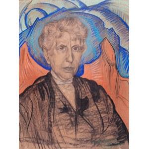 Stanisław Ignacy Witkiewicz (1885 Warszawa - 1939 Jeziory na Polesiu), Portret kobiety Portret kobiety