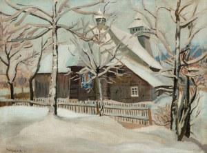 Stanisław Borysowski (1901 Lwów - 1988 Toruń), Kościółek na Podhalu