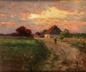 Walery Brochocki (1847 Włocławek - 1923 Warszawa), Polska wieś, 1893 r.