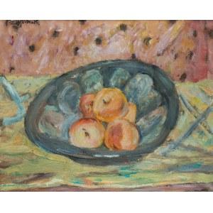 Czesław Rzepiński (1905 Strusowa k. Trembowli - 1995 Kraków), Martwa natura z owocami