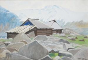 Alfred Terlecki (1883 Warszawa - 1973 Kraków), Szałasy w górach