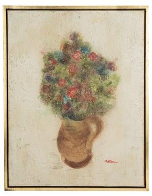 Jankiel Adler (1895 Tuszyn k. Łodzi - 1949 Aldbourne/Anglia), Wazon z kwiatami
