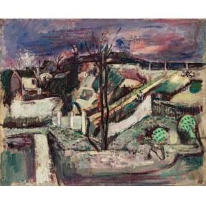 Joseph Pressmane (1904 Beresteczko- 1967 Paryż), Widok na wieś