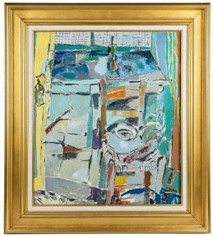 Judyta Sobel (1924 Lwów - 2012 Nowy Jork), Martwa natura z krzesłem