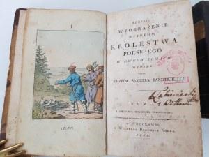 Bandtkie KRÓTKIE WYOBRAŻENIE DZIEIÓW KRÓLESTWA POLSKIEGO WROCŁAW 1810