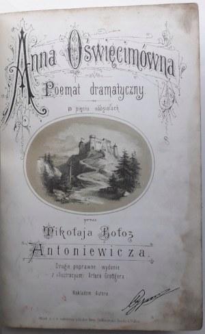 Antoniewicz ANNA OŚWIĘCIMÓWNA Wiedeń 1873r il. GROTTGER