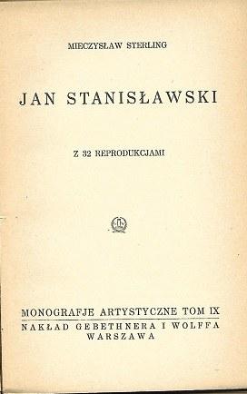 Sterling Mieczysław JAN STANISŁAWSKI