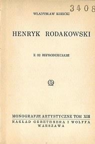 Kozicki Władysław HENRYK RODAKOWSKI