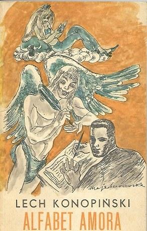 Konopiński Lech ALFABET AMORA ilustracje BEREZOWSKA