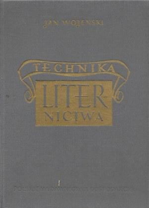 Wojeński Jan TECHNIKA LITERNICTWA