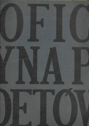 OFICYNA POETÓW Sierpień 1966 MARIA DĄBROWSKA