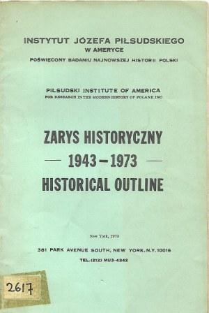 ZARYS HISTORYCZNY 1943-1973 HISTORICAL OUTLINE