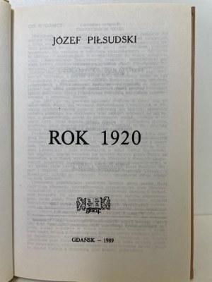 Piłsudski Józef ROK 1920 oraz dodatek MAPY