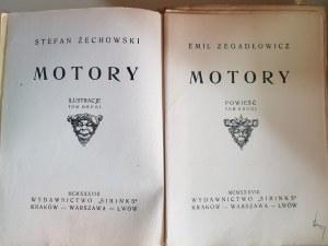 ZEGADŁOWICZ MOTORY il. ŻECHOWSKI UNIKAT 1938