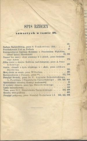 PRZEGLĄD POLSKI Rok IX Zeszyt X Miesiąc Kwiecień-Czerwiec 1875