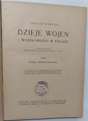 KORZON Tadeusz Dzieje Wojen i Wojskowości
