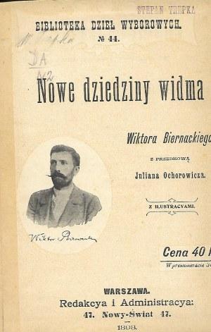 Biernacki Wiktor NOWE DZIEDZINY WIDMA z ilustracyami