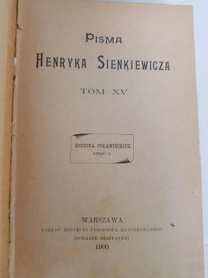 Sienkiewicz Henryk RODZINA POŁANIECKICH