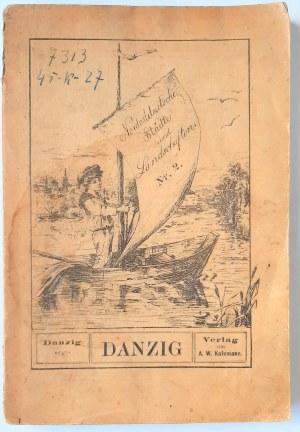 Püttner, Danzig - przewodnik po Gdańsku 1894 r.