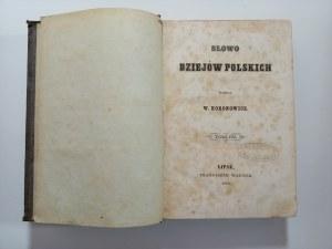 Koronowicz, Słowo dziejów polskich. Tom III, 1860 r.