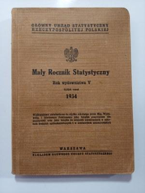Mały Rocznik Statystyczny 1934 r.