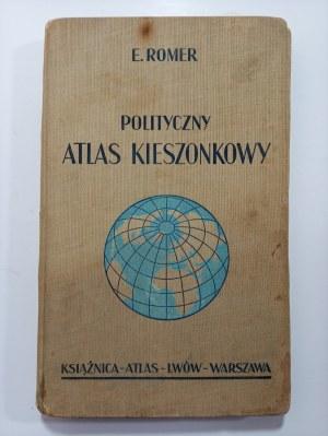 Romer, Polityczny Atlas Kieszonkowy, 1937 r.