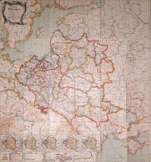 Mapa Jana Babireckiego Polska w roku 1771