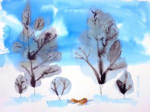 Marta Konieczny (ur. 1969), Zagubiony w zimie, 2020