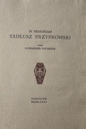 Przypkowski Tadeusz