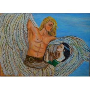 Pajda Ewelina, Kobieta i Anioł