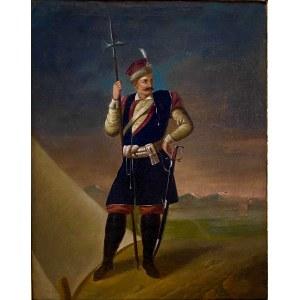 January Suchodolski, Konfederat Barski