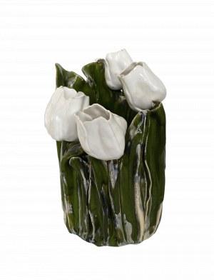 Krystyna Bącela, Zielony wazon z makami