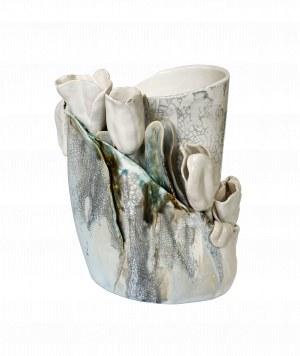 Krystyna Bącela, Biały wazon z makami
